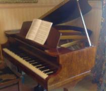 Grand Piano Brought Back To It's Former Glory