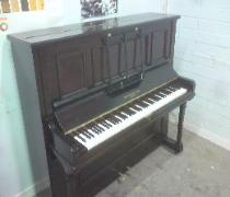 upright piano french polished